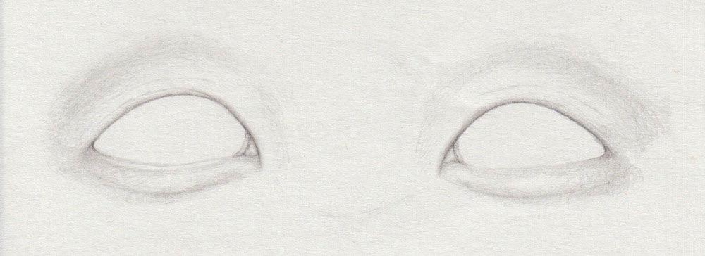 Monolid zeichnen