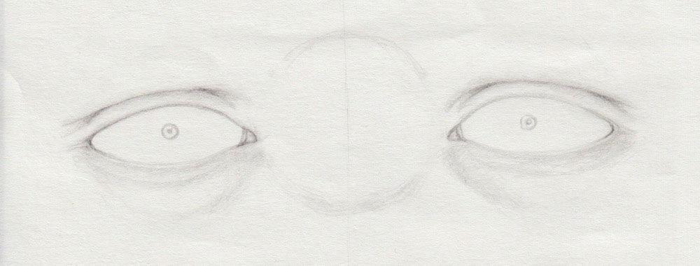 Pupille zeichnen