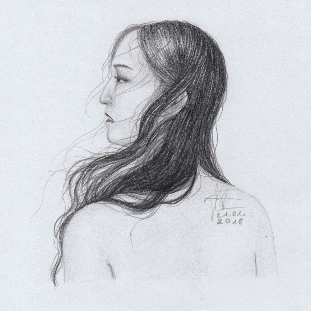 Von Skizze zur Zeichnung