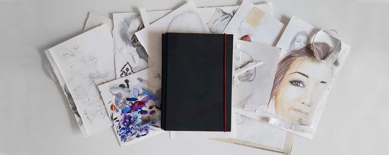 Wie man ein Skizzenbuch (nicht) führt
