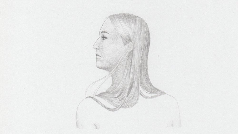 Draw long hair: Blonde Hair
