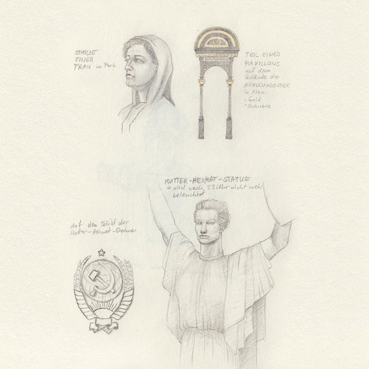 Sketches from Kiev