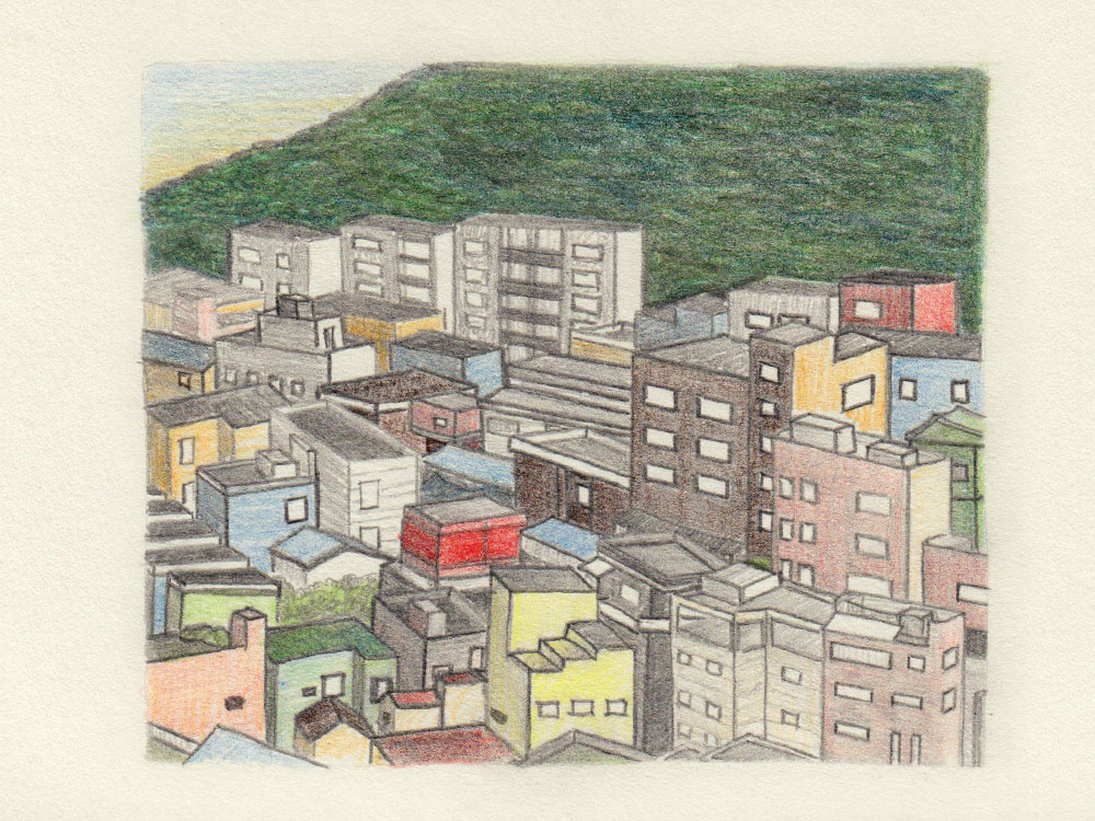 Drawing Busan houses