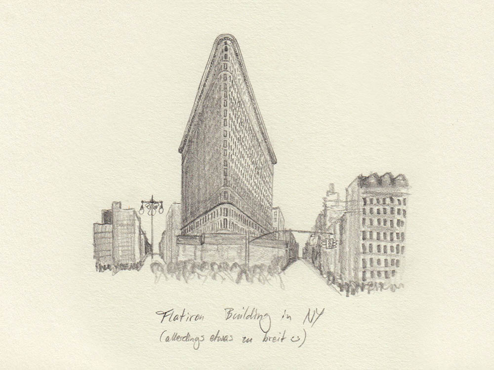 Drawing Flatiron Building