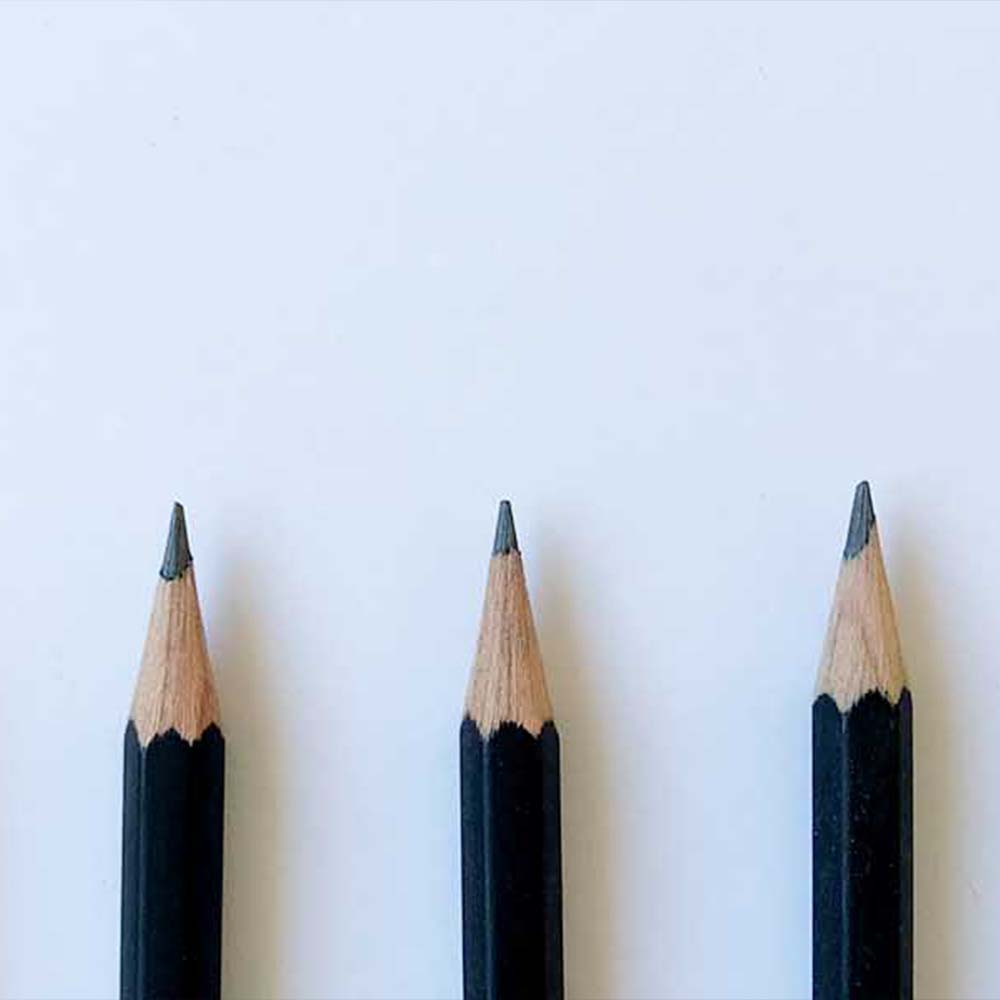 different pencils