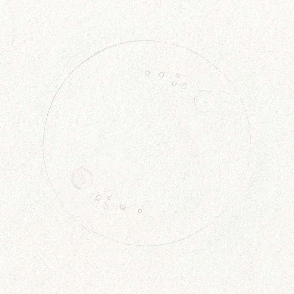 Skizze Seifenblase