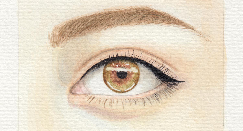 Augen malen lernen