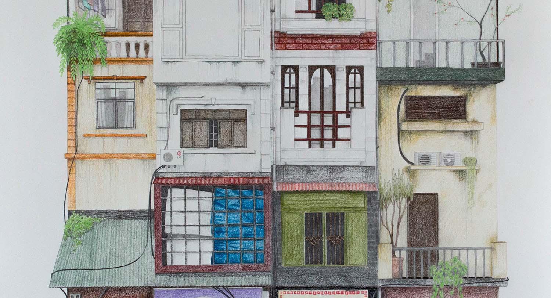 Haus von vorne zeichnen