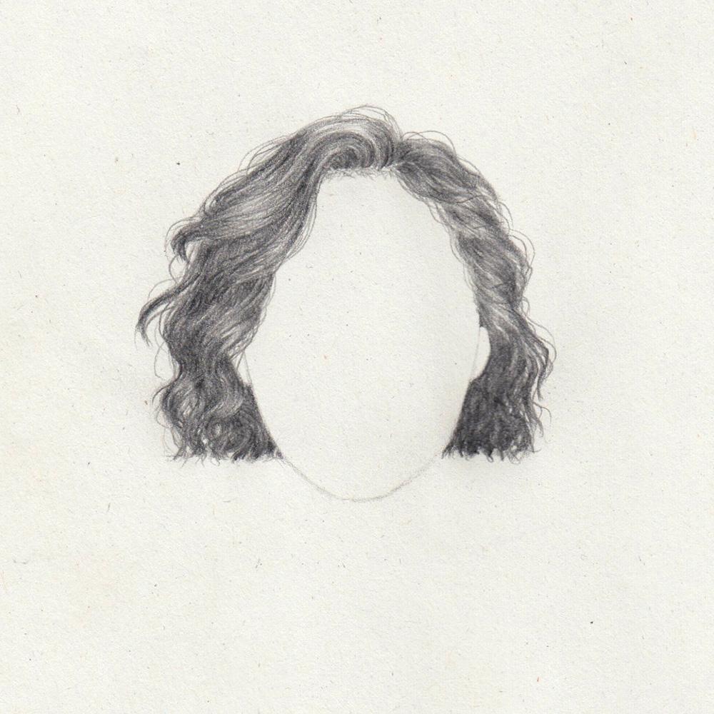 Drawing: Bob wavy